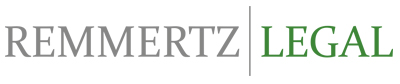 logo, remmertz legal